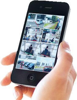 Приложение для удаленного просмотра камер видеонаблюдения