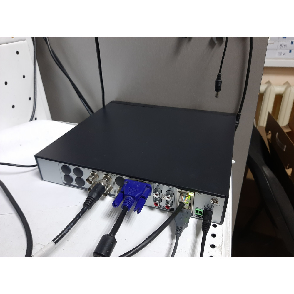 4-канальный AHD-M  гибридный регистратор 4audio (XMEYE) Модель : HQ-9604HR