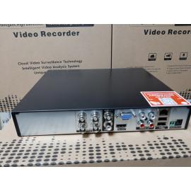 4-канальный AHD-H мультиформатный гибридный регистратор 4audio(XVR Pro) Модель : HQ-9904HT