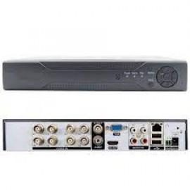 8-канальный AHD-H мультиформатный гибридный регистратор 4audio(XVR Pro) Модель : HQ-9908HT