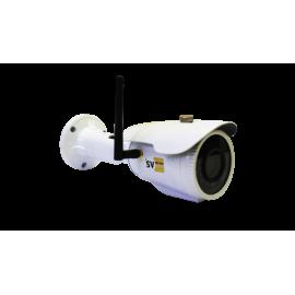 1 Mp уличная WiFi IP камера  f=2.8-12mm (c SD картой 64 Гб) (Yoosee)  Модель : SVPI-7030V2fm64