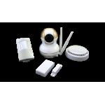 Охранный комплект : поворотная камера + датчики, удаленное управление . Модель: SVIP-kit300