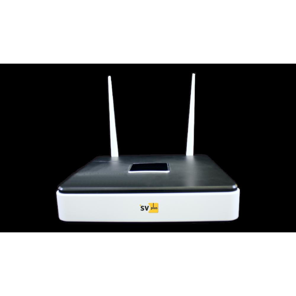 4 канальный сетевой WiFi  видеорегистратор, Для камер серии 301 Модель : SVIP-NVR300