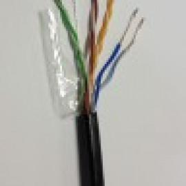 Кабель сетевой витая пара UTP 24AWG 4пары CAT5e внешний медь FLUKE TEST PASS  Модель: CU-001