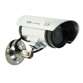 Муляж уличной  камеры видеонаблюдения с мигающим красным светодиодом. Модель : K-501MU